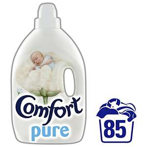 Comfort Pure Concentrate Fabric Conditioner, 85 Washes, 3 Ls - £4 at amazon pantry free delivery section Prime Exclusive (4 free delivery items or £2.99 delivery per box)