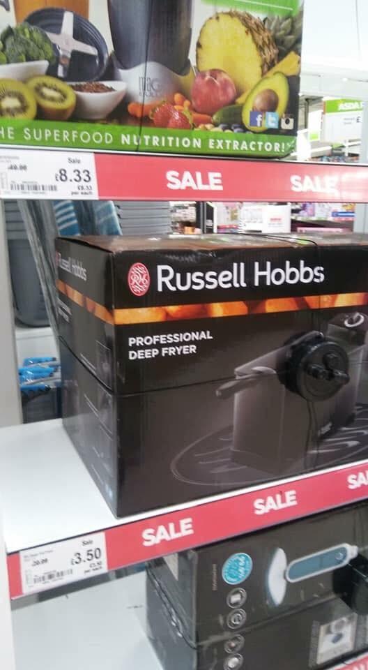 Russell Hobbs Deep Fryer Bargain Price £3.50 Asda Instore