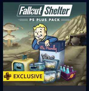 Fallout Shelter: PlayStation®Plus Pack free for PS4 Plus members @PSN