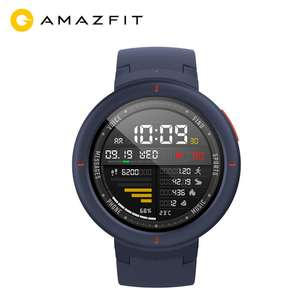 NEW Original Xiaomi Huami AMAZFIT Verge 3 GPS Smart Watch AMOLED Screen Heart Rate Monitor Built-in NFC 11 Sport for MI8 IOS @ amazfit official store Aliexpress £132