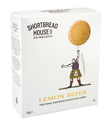 Shortbread House of Edinburgh Sporting Range Lemon Bites in Box, 150 g, Pack of 4 - £4.84 - amazon add on item minimum 20 pound spend req