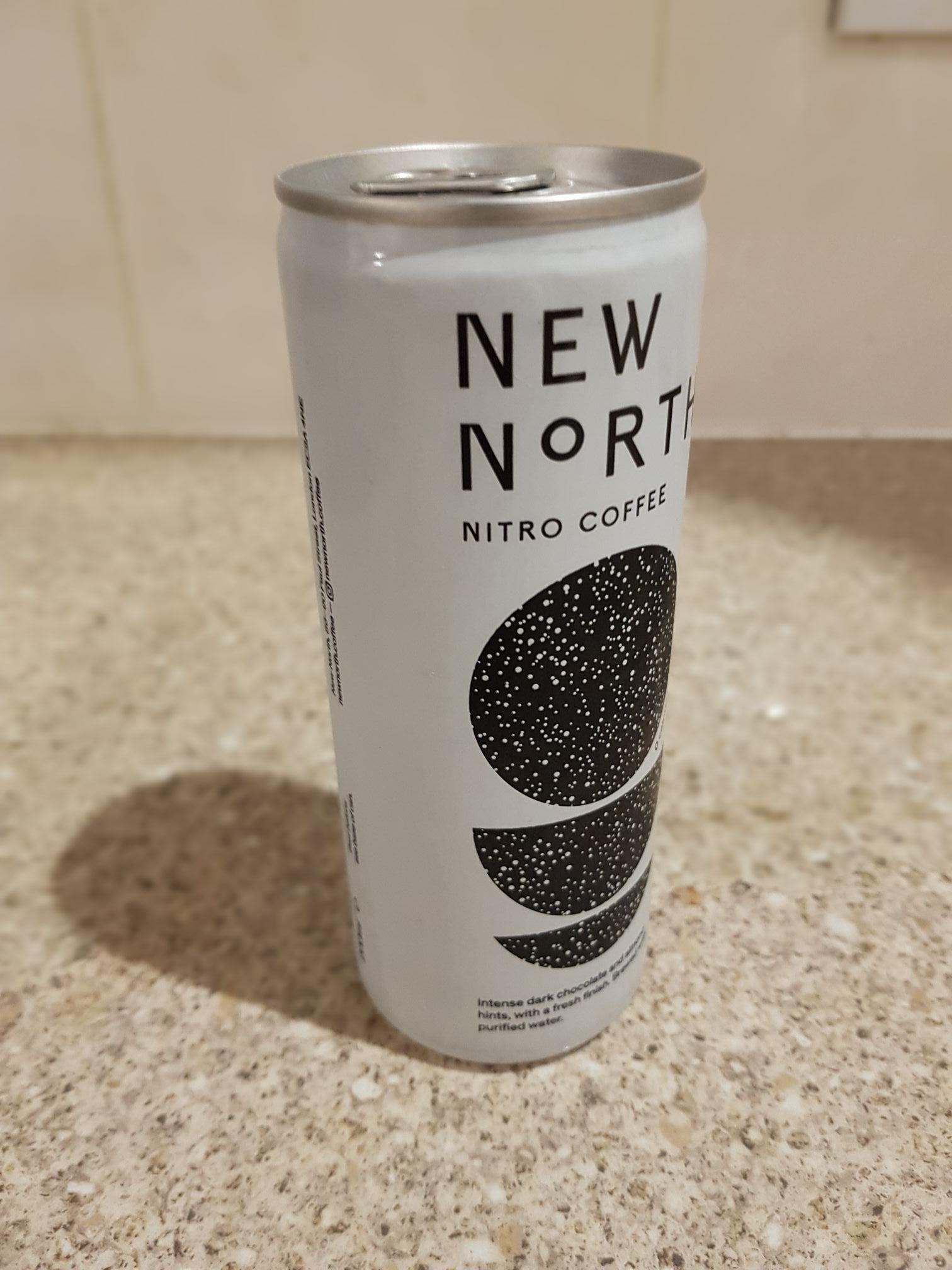 4 x New North Nitro Coffee 200mL (0g sugar!) £1.00 @ Heron Fods