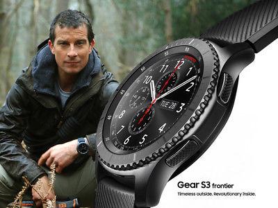 As worn by the Bear! Samsung Gear S3 SM-R760 Frontier Smart Watch Black Bluetooth - £175.99 @ eGlobalCentralUK
