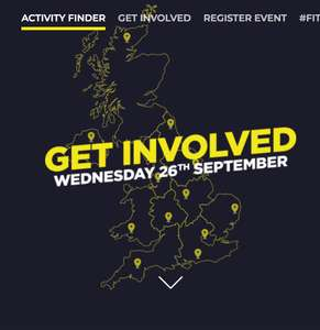 National Fitness Day 26th September - Free Gym passes - Free Leisure Centre Access - Free swimming - Free classes plus more