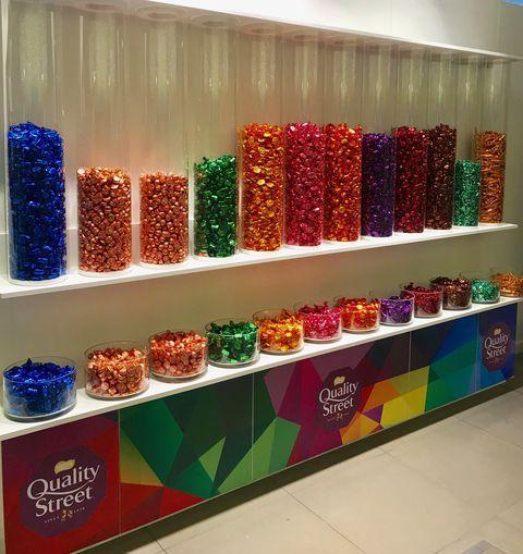 Nestlé Quality Street Tin, 1.2kg Pick & Mix - £12 instore @ John Lewis & Partners