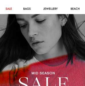 Accessorize mid season sale now live online only, instore from tomorrow 20.09.18