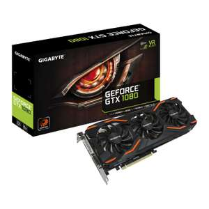 Gigabyte NVIDIA GeForce GTX 1080 8GB - £439.99 / £445.48 Delivered @ Scan
