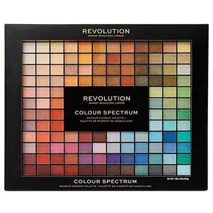 christmas gift ideas @ Superdrug - Revolution 196 Colour Eyeshadow Palette £14 or mix and match 3 Revolution gifts for £33