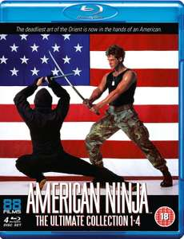 American Ninja 1-4 Blu-ray boxset £8.99 + 99p Delivery @ Zavvi