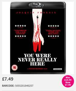 You Were Never Really Here Blu-Ray 50% OFF - £7.49 @ HMV BIG SALE (more titles listed in thread!)