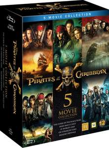 Pirates of the caribbean 1-5 Bluray - £19.79 with code @ Zoom