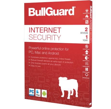 BullGuard Internet Security 1 Year Subscription
