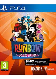 Runbow Deluxe Edition PS4 £9.99 @ simply games
