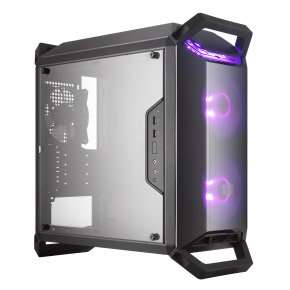 Cooler Master MasterBox Q300P Computer Case with FREE Cooler Master MasterLiquid ML240L RGB AIO CPU Cooler £64.98 Ebuyer