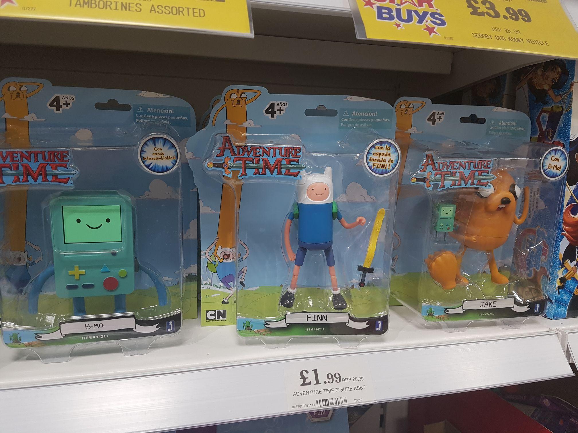 Adventure time figures @ home bargains - £1.99