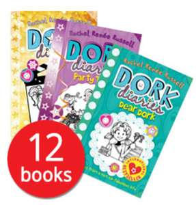 New Dork Diaries Collection 12 Books for £10  / Usborne Phonics Readers Collection 12 Books for £10.39 delivered w/code @ The Book People
