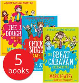 Mark lowery book set £5.59 with code at Book People (£4.95 delivery)