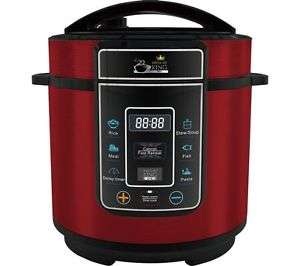 Back in stock, pressure king pro 3l pressure cooker  in red £25.97 Currys on eBay