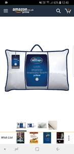 Silentnight Memory Foam Firm Pillow  £14.66 (Prime) / £19.15 (non Prime) at Amazon