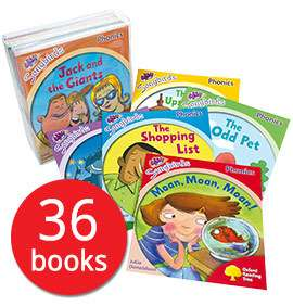 Songbirds Phonics 36 book collection by Julia Donaldson now £13.59 delivered with codes @ The Book People