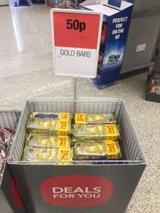 GIANT 21 pack of Gold Bars for just 50p. Only 2.4p per bar. (In store Only) @ Co-Op