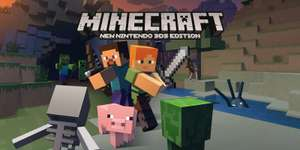 Minecraft: New Nintendo 3DS Edition now available in Europe. £19.99 on Nintendo 3DS eShop