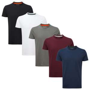 5 Pack Tees £14.95 Delivered @ Charles Wilson Clothes