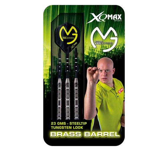Michael Van Gerwen 23g Tungsten Look Brass Darts £4.99 @ Argos Clearance (Free C&C)