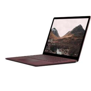 "Microsoft Surface Laptop 13.5"" Laptop - Burgundy AO.COM £899 reduced to £699 after cashback i5 8gb ram 256 SSD"