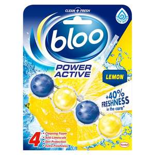 Bloo Poweractive Lemon Toilet Rim Block 50G, now £1 @ Tesco
