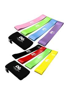 Resistance Bands Set of 4 - with free Massage Stick (£9.95) - total price £7.99 Prime (£4.49 delivery without Prime) Sold by Physix Gear and Fulfilled by Amazon.