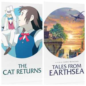 The Cat Returns or Tales From Earthsea (Ghibli) bluray steelbook limited edition - Zavvi £9.99 Each (free delivery on steelbooks)