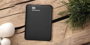 3TB WD ELEMENTS PORTABLE (RECERTIFIED) free delivery and 30 day money back guarantee £57.99 @ WD