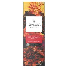 Taylors of Harrogate 10 Nespresso capsules – Hot Lava Java and Decaf – 50p instore @ Poundstretcher