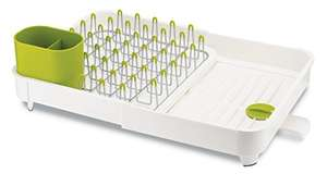 Joseph Joseph extendable dish rack  White and green £24.99 from Amazon