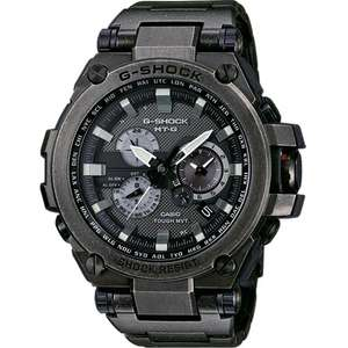 Casio Mens G-Shock Radio Controled Solar Powered Black Watch MTG-S1000V-1AER £679 Watches2u