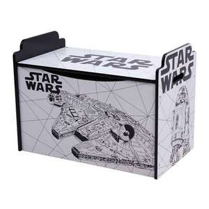 Disney Star Wars Toy Box Now Half Price £20 @ Dunelm. C&C or £3.95 Delivery.