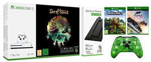 Xbox One S 1TB Console Sea of Thieves Bundle with Vertical Stand/Forza Horizon 3/Minecraft Explorers Pack/Wireless Controller Minecraft Creeper £229.99 Amazon
