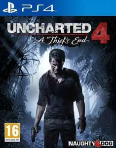 (Original Cover) Uncharted 4: A Thief's End - £12.95 @ The Game Collection
