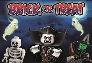 Free Entry Saturday 20th October to Sunday 4th November 2018 for Kids in Halloween Fancy Dress @ Legoland Discovery Centre Manchester (per paying adult)