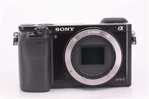 Sony A6000 Mirrorless Camera - Used/Excellent - W/ 1 Year Guarantee + Free Delivery  £266.80 @Jessops Used (CameraJungle)