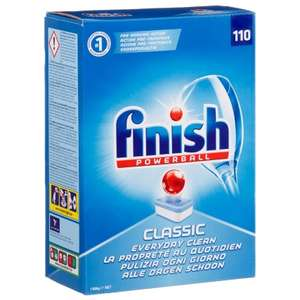 Finish Classic Dishwasher Tablets 110s Only £7.99 @ BM instore