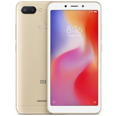 Xiaomi Redmi 6 5.45 inch 4G Smartphone Global Edition4GB RAM 64GB ROM 12.0MP + 5.0MP Rear Camera Fingerprint Sensor £113.73  GearBest
