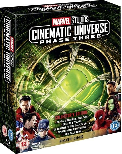Marvel Studios Collector's Edition Box Set - Phase Three - Part One Blu Ray £34.99 at HMV