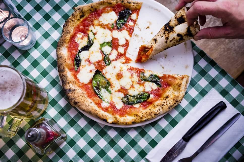 Free slice of margarita pizza at Tower 42, London City EC1 - 1 October