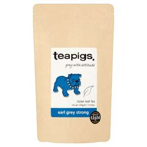 Teapigs Earl Grey Strong Loose Leaf Tea (BBD Feb 2019) - 100g for £1.19 FREE DELIVERY