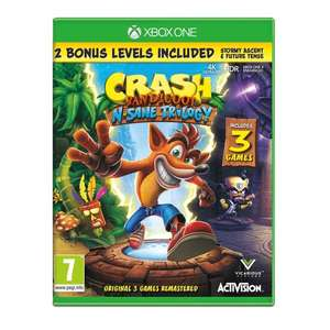 Crash Bandicoot N. Sane Trilogy Xbox One £21.99 click + collect @ smyths. Also @ Amazon for £22.26 delivered