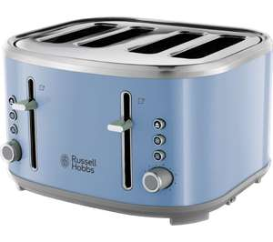 RUSSELL HOBBS Bubble 24413 4-Slice Toaster - Blue £22.98 delivered @ Currys ebay