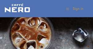 Double Stamps at Cafe Nero when using your own Cup - FREE drink after 5 purchased