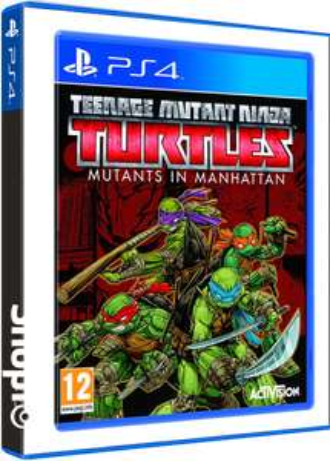 Teenage Mutant Ninja Turtles: Mutants in Manhattan PS4 £9.85 @ shopto